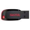 SanDisk  CZ50 Cruzer Blade 64 Gb, черный / красный, купить за 910руб.