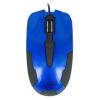 Мышка CBR CM 305 USB, сине-черная, купить за 525руб.