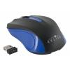 Мышка Oklick 485MW USB, черно-синяя, купить за 355руб.
