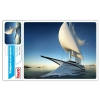 Коврик для мышки Buro BU-R51753 (рисунок/яхта), купить за 455руб.