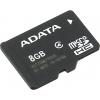 Карта памяти Adata microSDHC Class (8 Gb, Class 4), купить за 455руб.