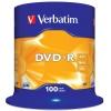 DVD-R Verbatim 4.7 Gb, 16x, Cake Box (100шт), купить за 1 725руб.