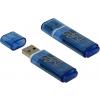 Usb-флешка SmartBuy Glossy 32GB, синяя, купить за 895руб.