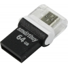 Usb-флешка SmartBuy POKO 64 Gb, черная, купить за 1 735руб.