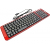 Клавиатура Dialog KK-03U USB, черно-красная, купить за 995руб.