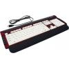 Клавиатура Dialog KK-L06U USB, бело-красная, купить за 1 200руб.