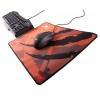 Коврик для мышки Asus Strix Glide Speed, Оранжевый/Черный, купить за 1000руб.