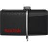 Usb-флешка Sandisk Ultra Dua 128Gb черная, купить за 2 610руб.