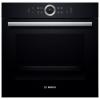 Духовой шкаф Bosch HBG6750B1, черный, купить за 87 135руб.