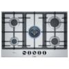 Варочная поверхность Bosch PCQ7A5B90, серебристая, купить за 28 840руб.
