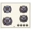 Варочная поверхность Teka ER 60 4G AI AL CI, кремовая, купить за 29 880руб.