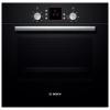 Духовой шкаф Bosch HBN239S5R, черный, купить за 21 530руб.