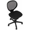 Мебель компьютерная Кресло офисное COLLEGE H-2408F-2 (ткань, сетчатый акрил, чёрное), купить за 3 930руб.