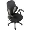 Мебель компьютерная Кресло офисное COLLEGE H-8880F (ткань, сетчатый акрил, чёрное), купить за 7 390руб.