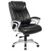 Компьютерное кресло College HLC-0505, черное экокожа, купить за 13 950руб.
