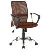 Компьютерное кресло College H-8078F-5,  коричневое, купить за 5 601руб.