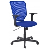 Компьютерное кресло College H-8828F, синее, купить за 4 830руб.