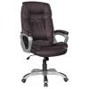 Компьютерное кресло College XH-2002, коричневая экокожа, купить за 13 060руб.