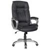 Компьютерное кресло College XH-2002, черная экокожа, купить за 13 060руб.