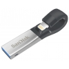 Usb-флешка SanDisk iXpand USB 3.0/Lightning 64Gb, Серая, купить за 6 600руб.