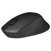 Logitech M330 Silent Plus USB, черная, купить за 1 590руб.