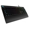Клавиатура Logitech G213 Prodigy RGB Gaming Keyboard USB, черная, купить за 3 960 руб.