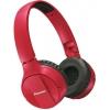 Наушники Pioneer SE-MJ553BT, красная, купить за 4 680руб.