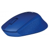 Мышка Logitech M330 Silent Plus, синяя, купить за 2 030руб.