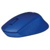 Мышку Logitech M330 Silent Plus, синяя, купить за 1950руб.