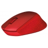 Мышь Logitech M330 Silent Plus, красная, купить за 2450руб.