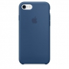 Чехол iphone Apple для iPhone 7 MMWW2ZM-A синий, купить за 2495руб.