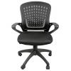 Мебель компьютерная Кресло офисное COLLEGE HLC-0472 (ткань, сетчатый акрил, чёрное), купить за 5 915руб.