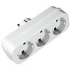 Разветвитель электропитаня Uniel S-GES3-16P (3 розетки, заземление), купить за 85руб.