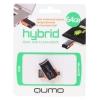 Usb-флешка Qumo Hybrid USB2.0/USB micro-B OTG 64Gb (RTL), купить за 1 765руб.