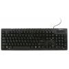 Gembird KB-8300UM-BL-R/KB-8300M-BL-UR USB, чёрная, купить за 450руб.