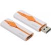 Usb-флешка SmartBuy Comet 8GB, белая с оранжевым, купить за 545руб.