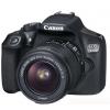 Цифровой фотоаппарат Canon EOS 1300D KIT (EF-S 18-55mm IS II), черный, купить за 26 799руб.