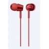 Гарнитура для телефона Sony MDREX150APR E красная, купить за 1 380руб.