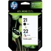 Картридж HP 21+22 SD367AE (двойная упаковка), купить за 2 790руб.