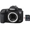 Цифровой фотоаппарат Canon EOS 7D Mark II Body + Wi-Fi адаптер W-E1 (9128B128), купить за 103 375руб.