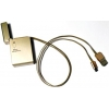 Кабель / переходник KS-is KS-293G retractable, золотистый, купить за 450руб.