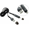 KS-is (Lightning, microUSB-USB) KS-285G-B, черно-серый, купить за 675руб.