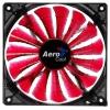 Кулер AeroCool Shark Fan Devil, 12cm, красная, купить за 730руб.