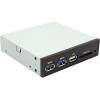 Устройство для чтения карт памяти ST-Lab E-110 (MOLEX/SATA/USB3 — USB/SD/MS/MMC), чёрный, купить за 1 670руб.