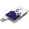 Устройство для чтения карт памяти AeroCool AT-955A (USB — SD/mSD/MS/MMC/CF), купить за 340руб.