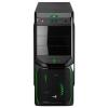 Корпус AeroCool V3X Advance Evil Green Edition (600 Вт), черный, купить за 3 990руб.
