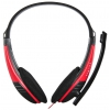 Гарнитура для пк Oklick HS-M150, черно-красная, купить за 370руб.