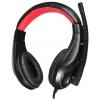 Oklick HS-L100, черно-красная, купить за 1 070руб.