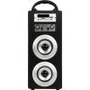 Портативная акустика KS-is KS-306, черно-серебристая, купить за 2 765руб.