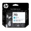 Картридж для принтера HP 792 CN703A (картридж-печатающая головка ), цвета голубой и светло-голубой, купить за 91 770руб.
